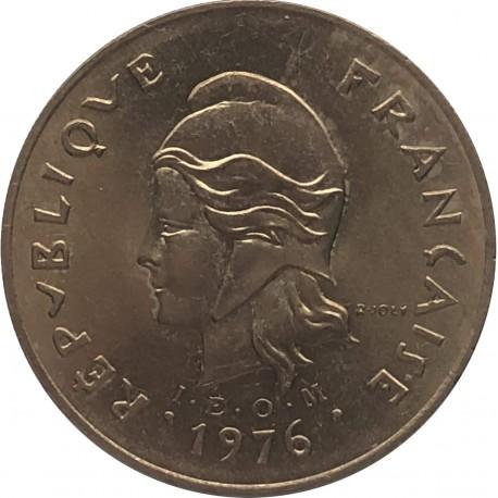 Polinezja Francuska 100 franków, 1976, stan 1
