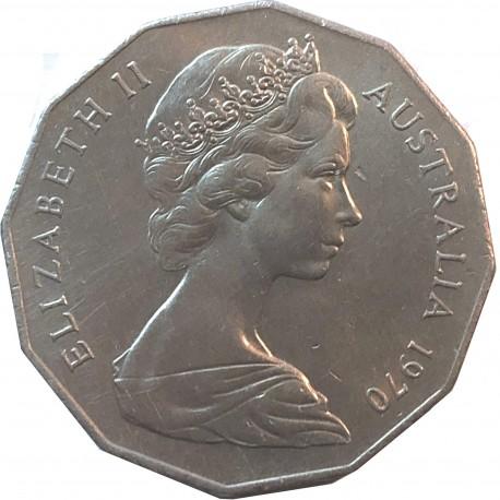 Australia 50 centów, 1970, 200 rocznica