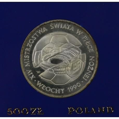 500 ZŁ, XIV Mistrzostwa Świata w Piłce Nożnej - Włochy 1990