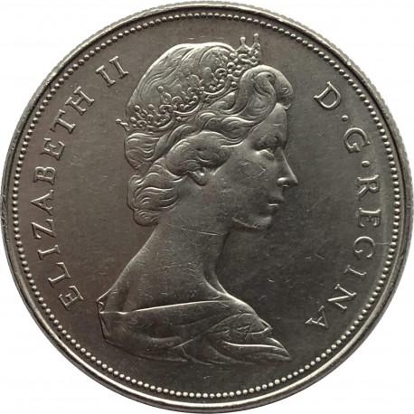 Kanada 1 dolar, 1968, stan 1-