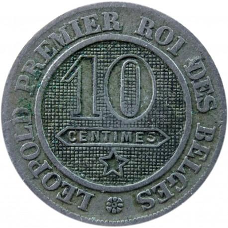 Belgia 10 centymów, 1861