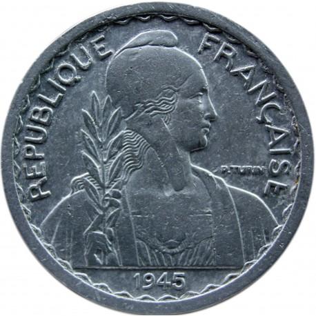Indochiny Francuskie 10 centymów, 1945