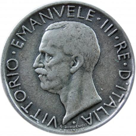 Włochy 5 lirów, 1930, srebro