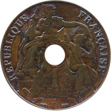 Indochiny Francuskie 1 centym, 1937