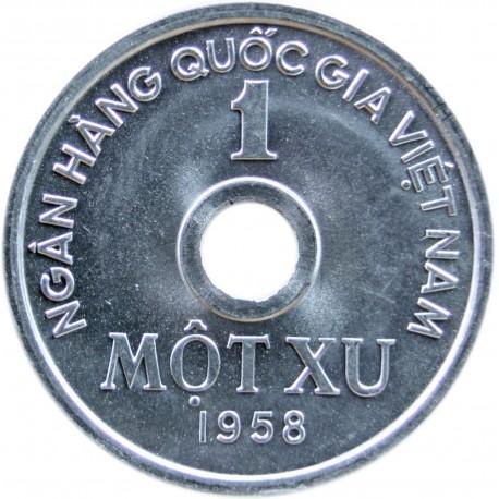Wietnam 1 xu, 1958, stan 1-