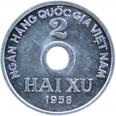 Wietnam 2 xu, 1958