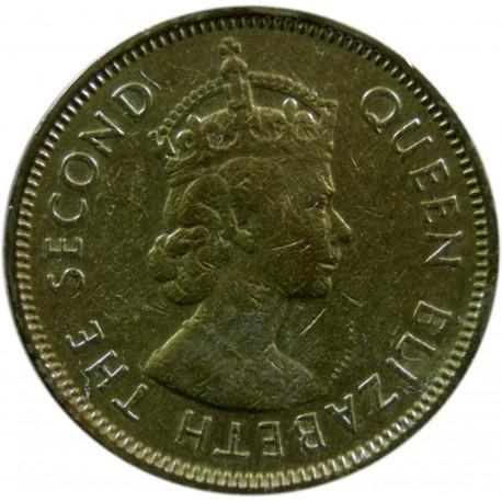 Hong Kong 10 centów, 1963
