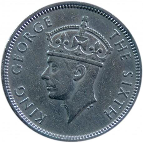 Hong Kong 50 centów, 1951