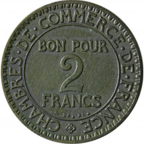 Francja 2 franki, 1922