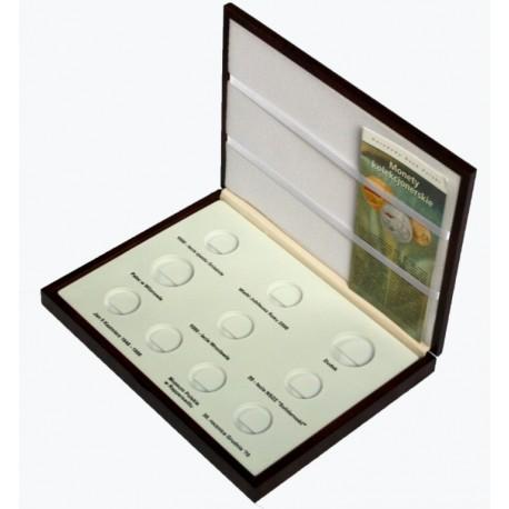 Kaseta do przechowywania monet srebrnych z roku 2000