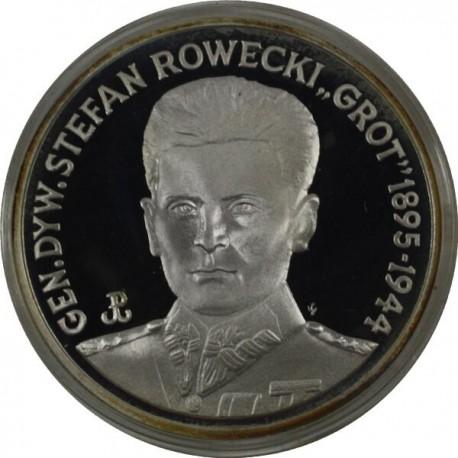 200 000 zł, Gen. Stefan 'Grot' Rowecki, 1990 r.