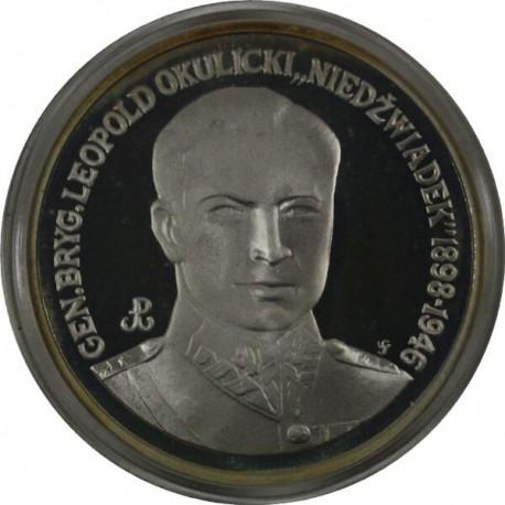 200 000 zł, Gen. Leopold 'Niedźwiadek' Okulicki, 1991 r.