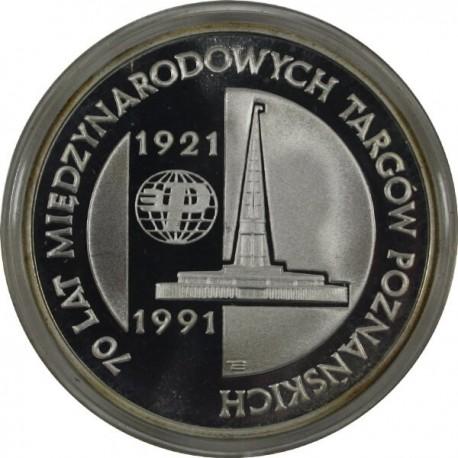 200 000 zł, 70 lat Międzynarodowych Targów Poznańskich 1921-91