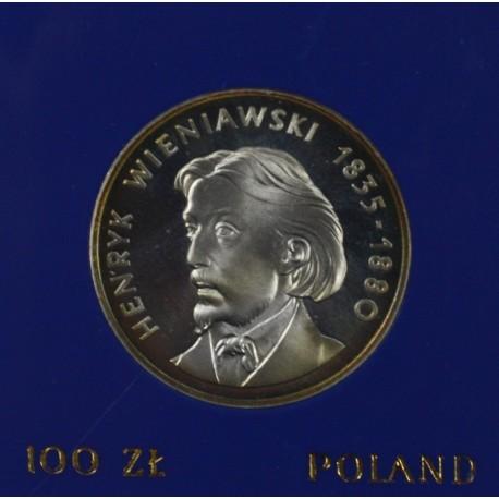 100 zł, Henryk Wieniawski, 1979
