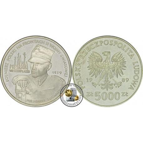 5000 zł, Ż.P.N.F. II W.Ś. - Westerplatte, 1939 r.