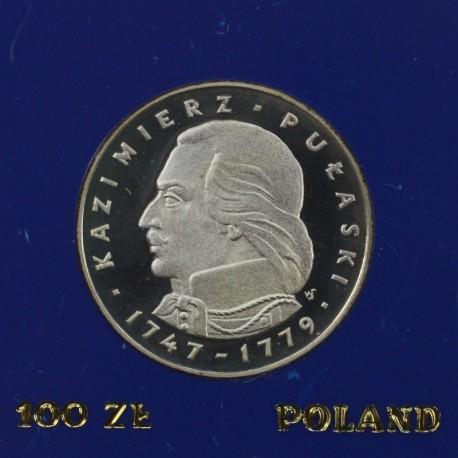 100 zł, Kazimierz Pułaski 1976