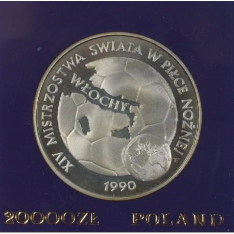 20.000 zł, XIV Mistrzostwa Świata w Piłce Nożnej - Włochy 1990