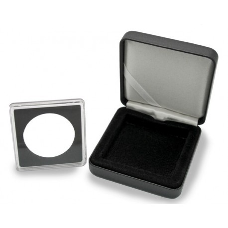 Etui na pojedynczą monetę w dowolnym rozmiarze + kapsuła Quadrum