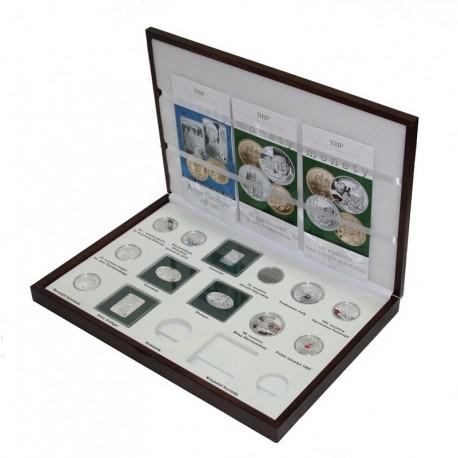 Kaseta do przechowywania monet srebrnych z roku 2010