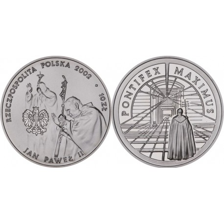 10 zł, Jan Paweł II Pontifex Maximus