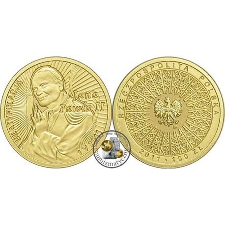 100 zł, Beatyfikacja Jana Pawła II 1 V 2011