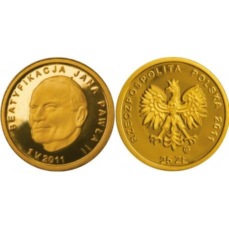 25 zł, Beatyfikacja Jana Pawła II 1 V 2011