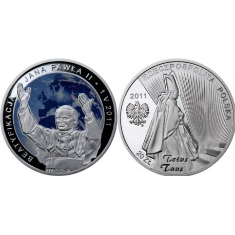 20 zł, Beatyfikacja Jana Pawła II 1 V 2011