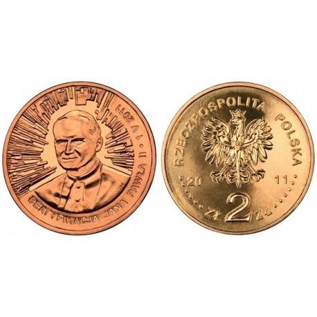 2 zł GN, Beatyfikacja Jana Pawła II – 1 V 2011