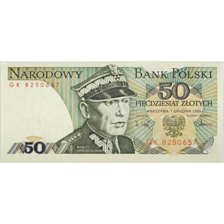 50 zł, Karol Świerczewski, 1988