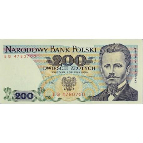 200 zł, Jarosław Dąbrowski, 1988