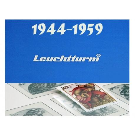 Hawidy na znaczki z lat 1944-1959 - Leuchtturm