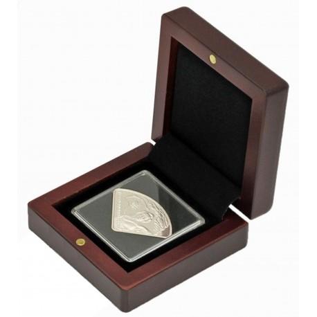 Etui na pojedyńczą monetę w kapsule quadrum