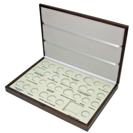 Kaseta rocznik 2005 do przechowywania monet srebrnych i 2zł GN