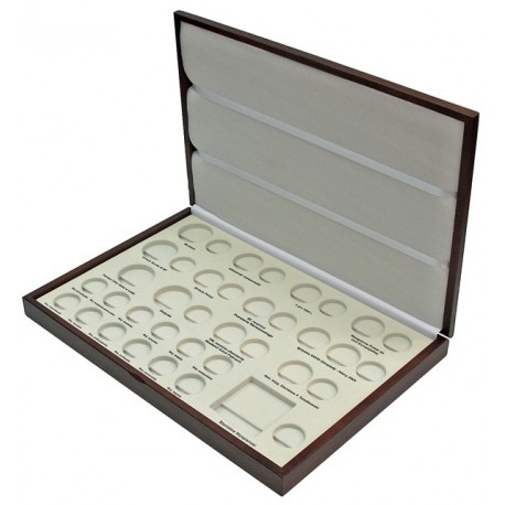 Kaseta rocznik 2004 do przechowywania monet srebrnych i 2zł GN.
