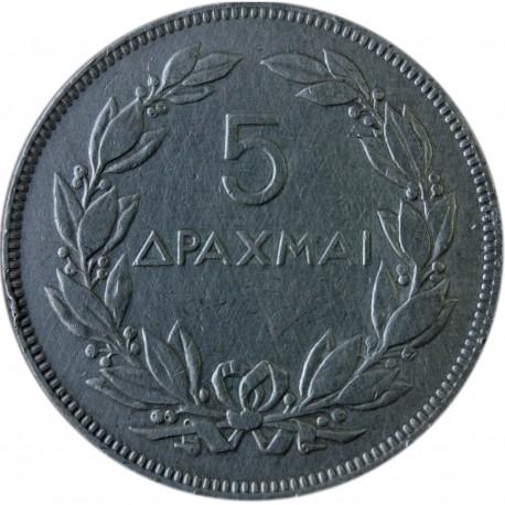 Grecja 5 drachm, 1930