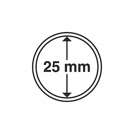 Kapsle o średnicy 25 mm firmy Leuchtturm