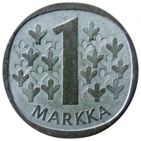 Finlandia 1 markka, 1964, srebro