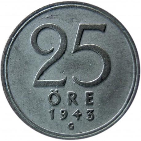 Szwecja 25 ore, 1948, srebro