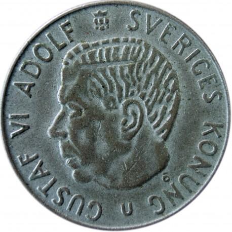 Szwecja 1 korona, 1968, srebro