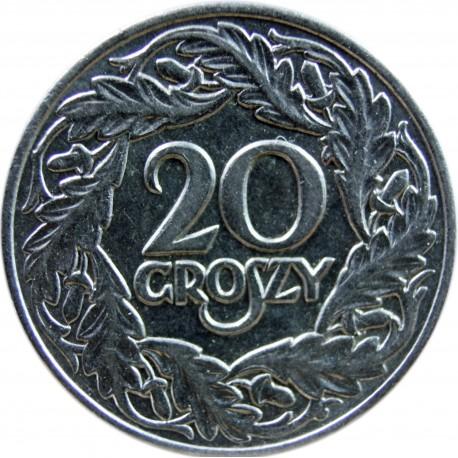 20 groszy, 1923, wyselekcjonowana
