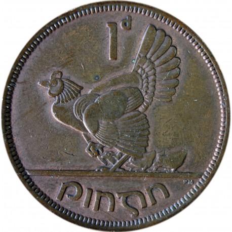 Irlandia 1 pens, 1943