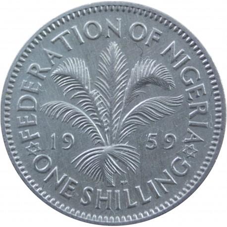 Nigeria 1 szyling, 1959