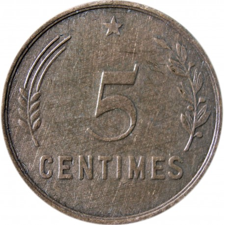 Luksemburg 5 centymów, 1930