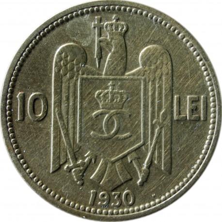 Rumunia 10 lei, 1930