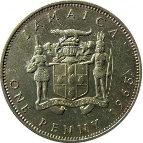 Jamajka 1 pens, 1965