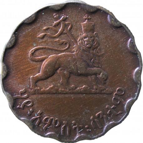 Etiopia 25 centów, 1944