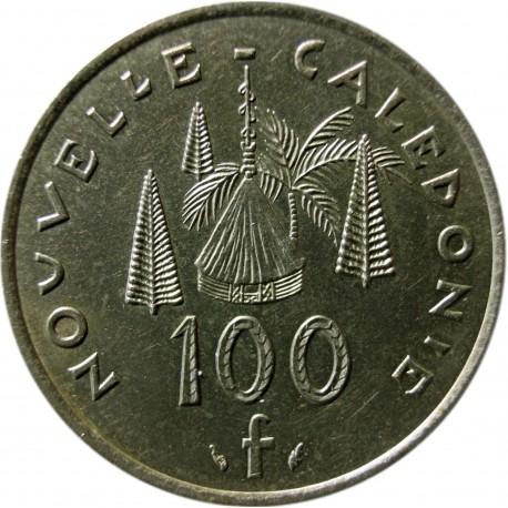 Nowa Kaledonia 100 franków, 1976