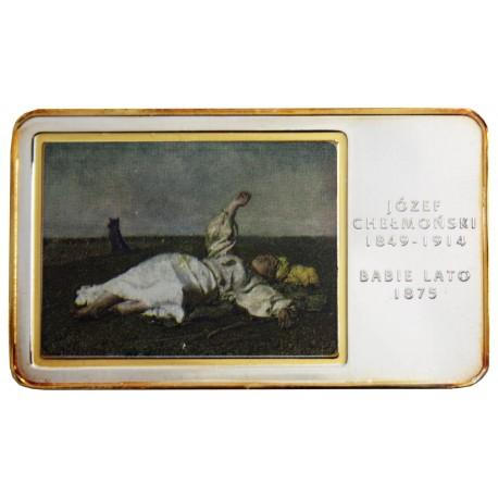 Medal Józef Chełmoński - Babie Lato (Arcydzieła Malarstwa Polskiego)