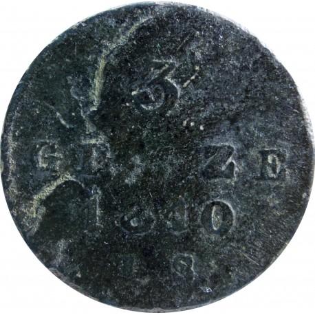 3 grosze polskie 1810 IS