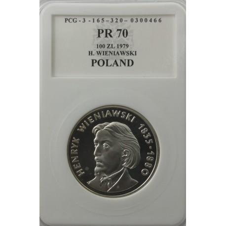 100 zł Henryk Wieniawski 1979, PR70